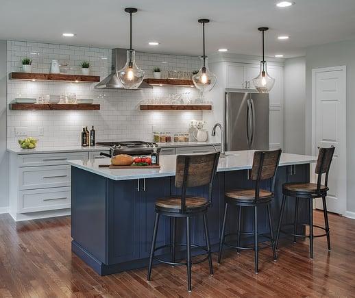Merillat_Cabinets-Kitchen_Navy-Masterpiece-Maple