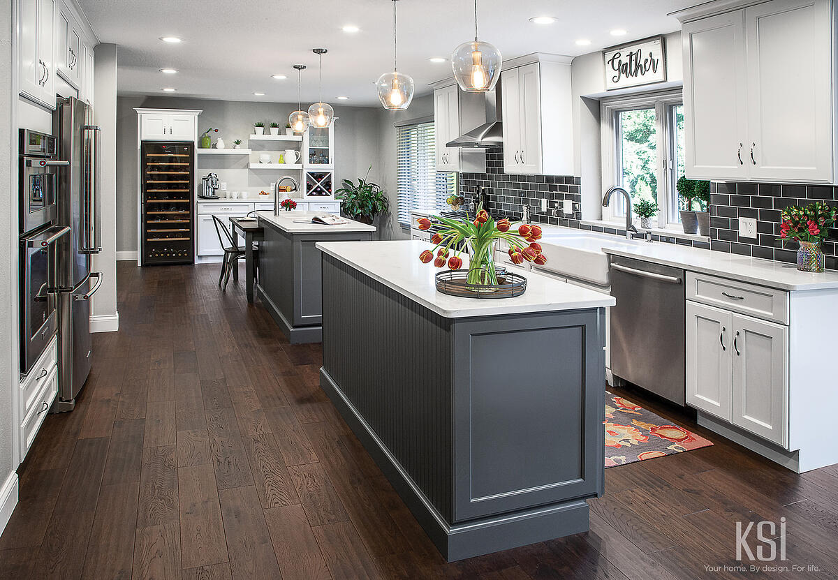 KSI Kitchen-Gray Kitchen-White Kitchen-Transitional_Kitchen