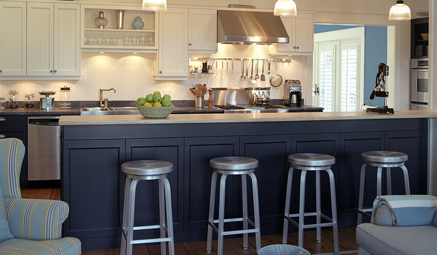 Navy and white Kitchen-300-175