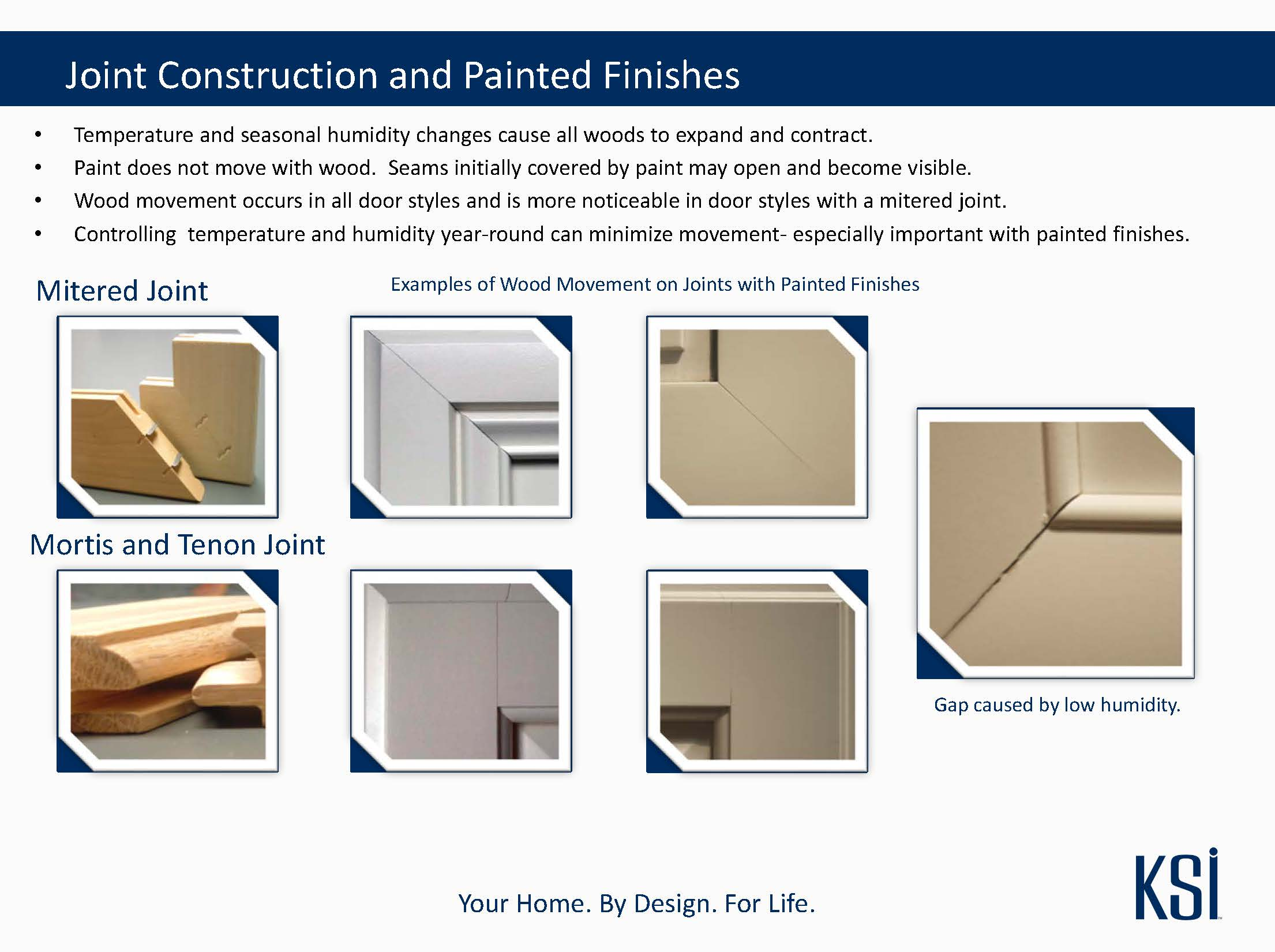 Cabinetry Joint Construction and Painted Finishes