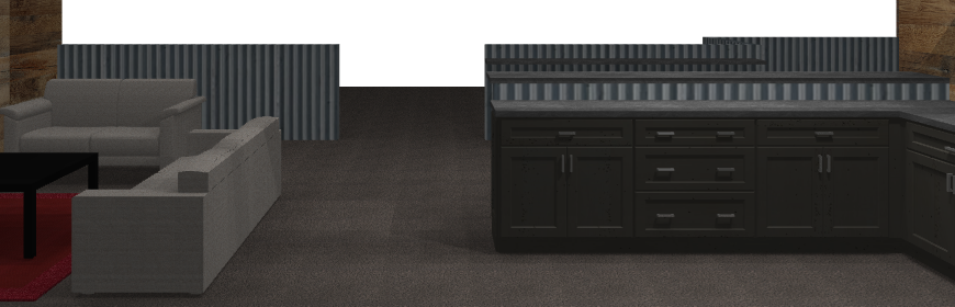M1 concourse-KSI-kitchen-design-track view