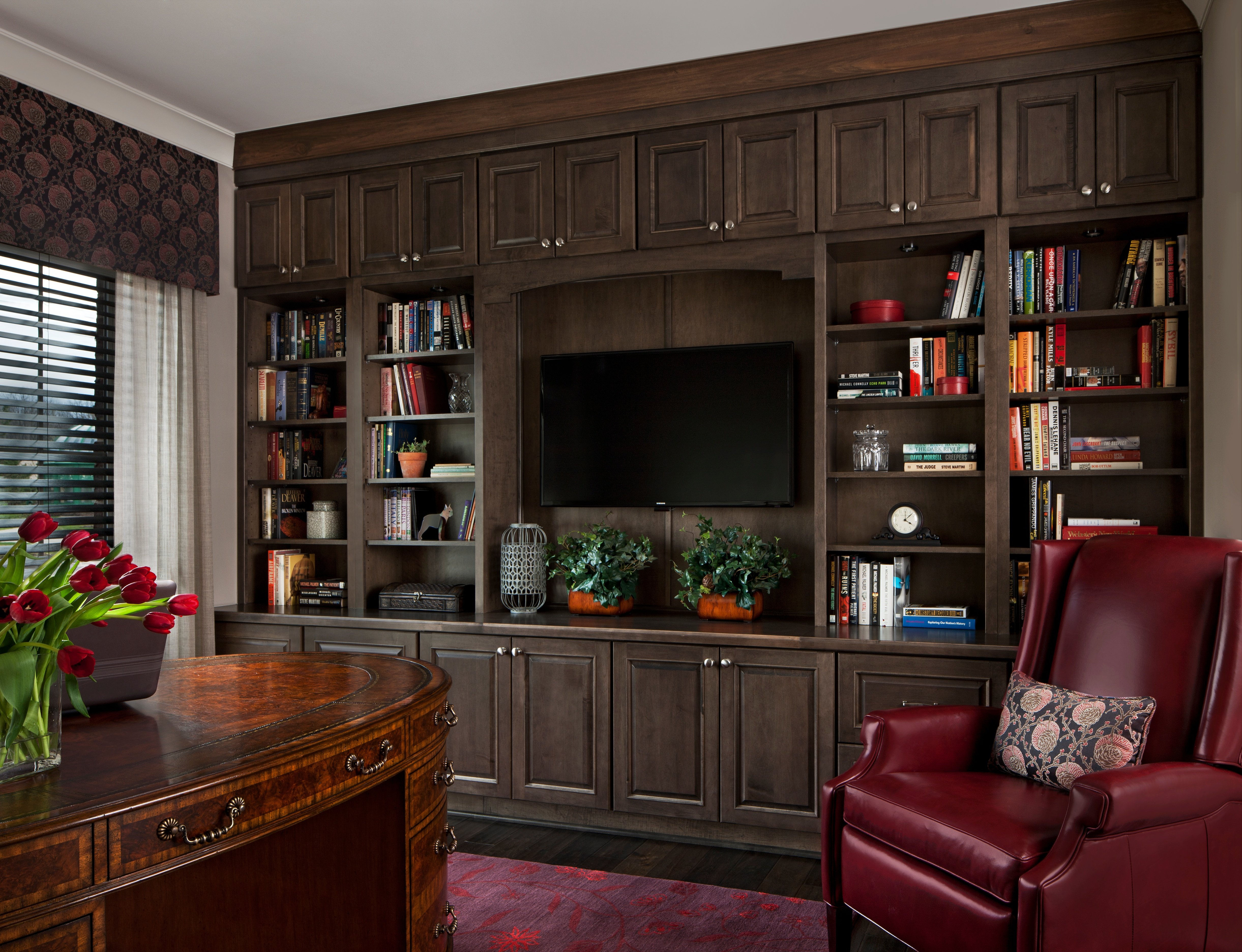 Home Office-KSI-Library-Dura Supreme Cabinetry
