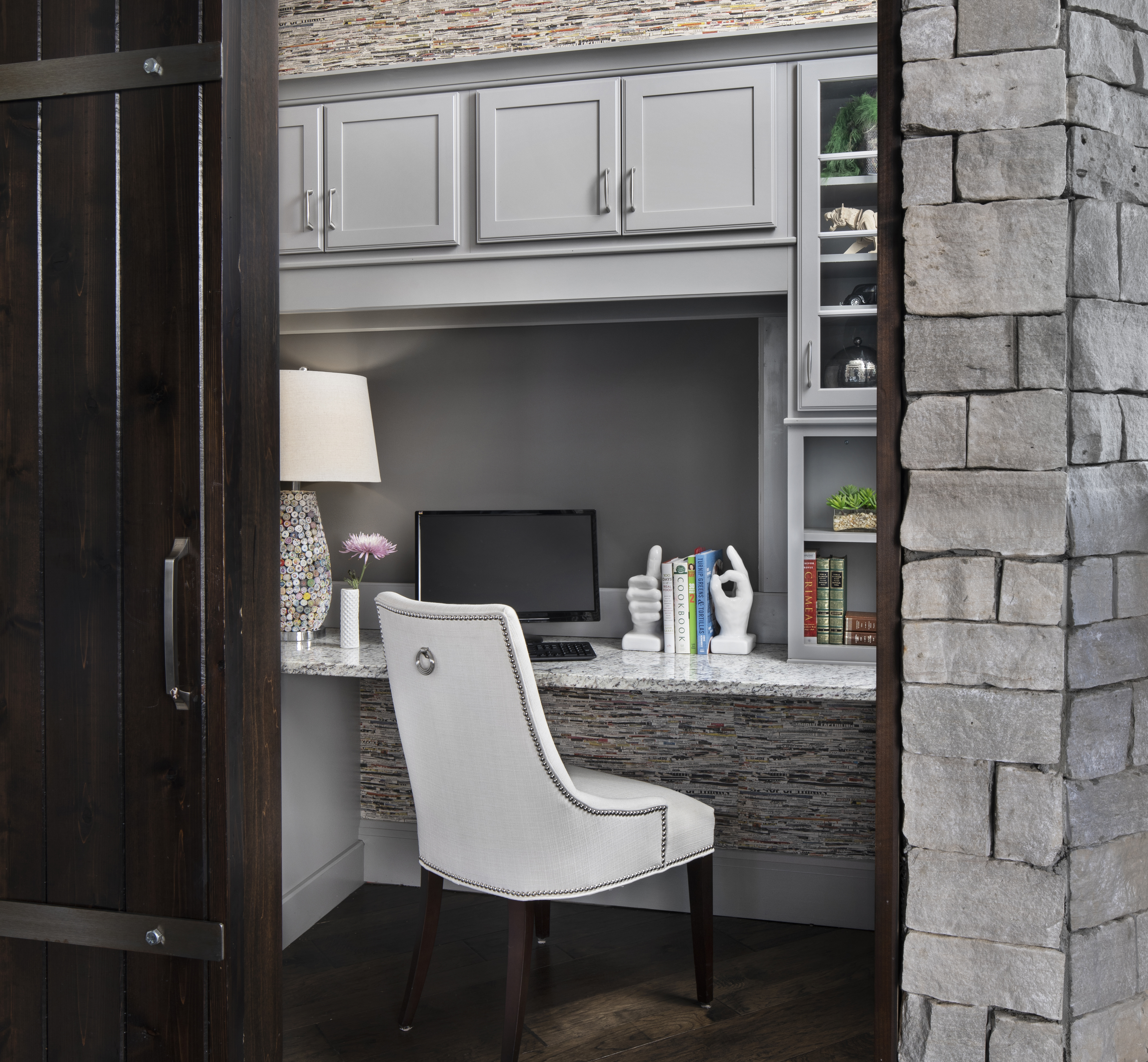 Home Office_Merillat Cabinets_Moceri Custom Homes