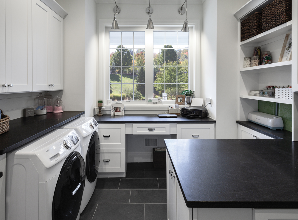 Home Office-Cabinets Express-KSI-White Cabinets