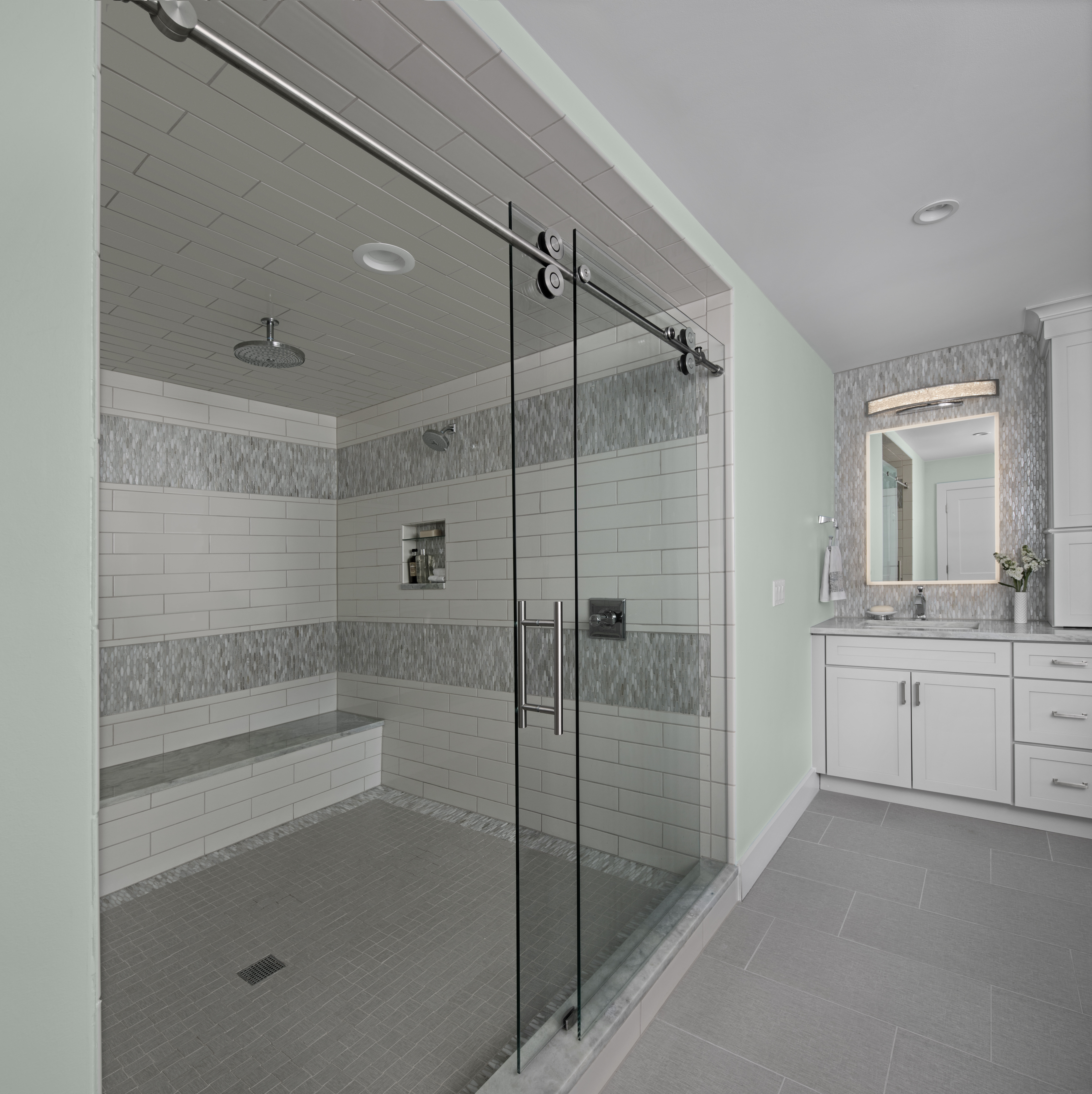 Transitional-Merillat-White-Masterbath_Shower