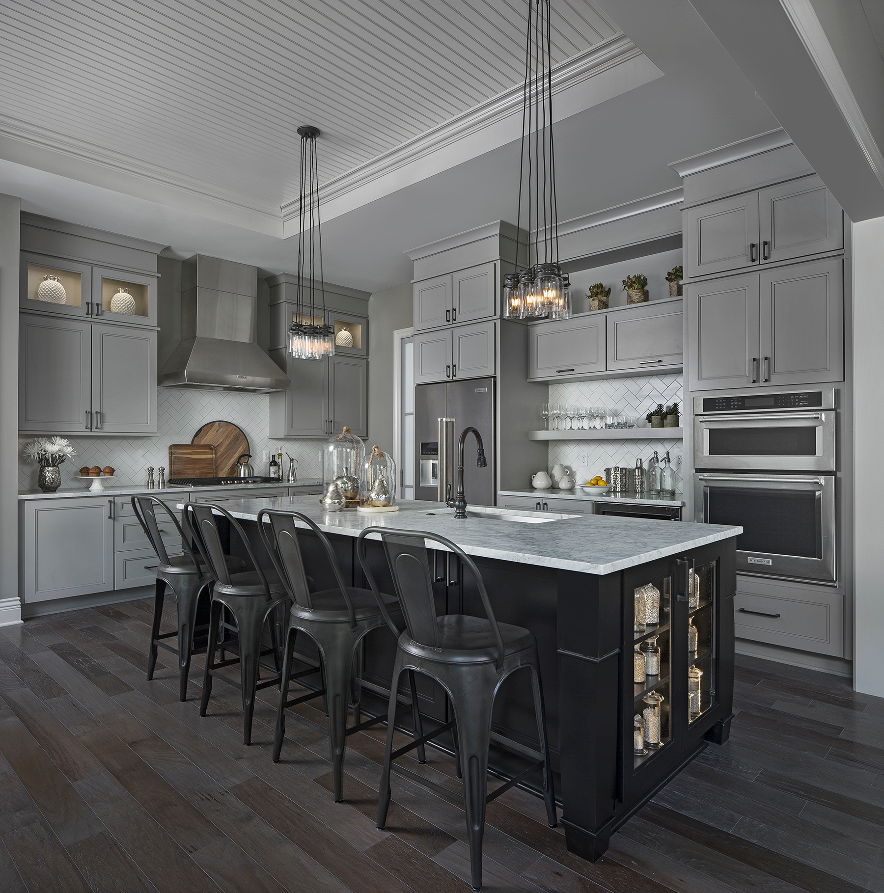 U201cWow Factorsu201d And Calm Tones Are Infused Throughout The Lancaster Model By  Arteva Homes That Is Featured In The 2016 Homearama® Event At Christenbury  Creek ...