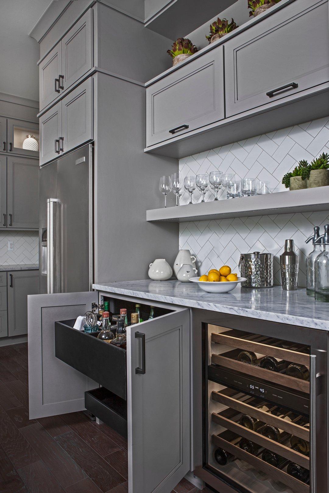 Grey bar kitchen-ksi kitchen and bath-granite