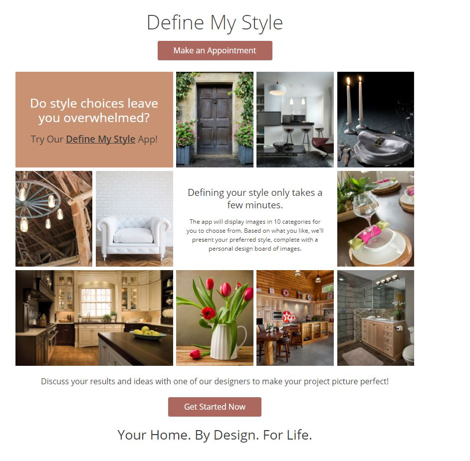 Define Your Style App -KSI Kitchen and Baths